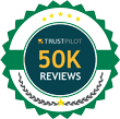 50k Truspilot Reviews